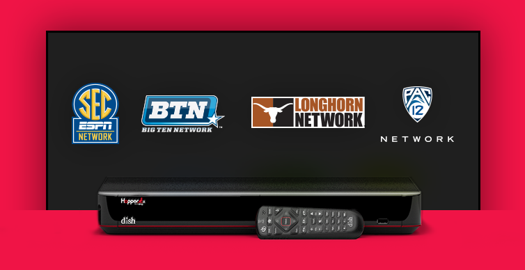 DISH College Sports TV Packages - Spartanburg, South Carolina - Satellite Depot - DISH Authorized Retailer